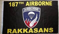 3X5 Us US Army 187Th Airborne Rakkasans Flag by Flag ** Click on the image for additional details.