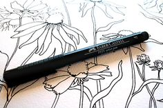 The Pitt Pen...The Rita\'s Art Blog: Tuesday\'s Tips and Techniques for Watercolor Painting