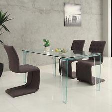 Creative muebles De Cristal De Mesa De Comedor