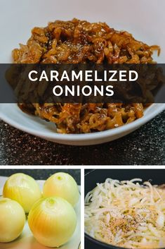 The best and easy way to caramelize the onions at home. The most delicious recipe of caramelized onions using balsamic glaze. Perfect dip to use for tasty burgers, sandwiches, pizza, taco and more. Easy Tart Recipes, Healthy Burger Recipes, Fast Healthy Meals, Vegetarian Recipes Easy, Grilling Recipes, Free Recipes, Best Brunch Recipes, Best Appetizer Recipes, Best Appetizers
