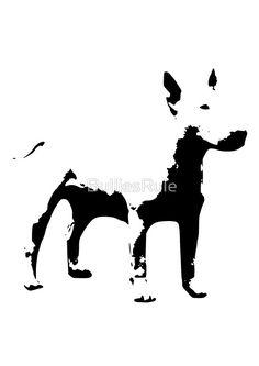 Black & White Bull Terrier - by Bullies Rule