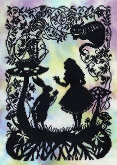 Alice in Wonderland Fairy Tale cross stitch kit