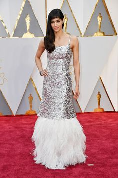 Actor Sofia Boutella attends the 89th Annual Academy Awards at Hollywood & Highland Center on February 26, 2017 in Hollywood, California.