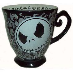 Disney Coffee Cup Mug - Nightmare Before Christmas - Jack Skellington