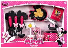Disney Minnie Mouse Gourmet Cooking Set -- See this great product. Baby Dolls For Kids, Little Girl Toys, Baby Girl Toys, Toys For Girls, Barbie Doll Set, Barbie Doll House, Barbie Toys, Minnie Mouse Kitchen, Minnie Mouse Toys