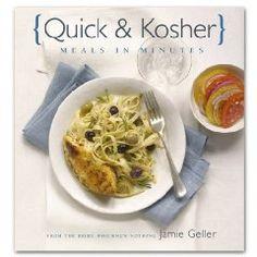 Quick and Kosher cookbook by Jamie Geller