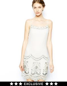 Image 1 ofFrock and Frill Embellished Cami Dress