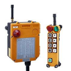 F24-8(include 1 transmitter and 1 receiver)One Speed 8 buttons Speed Hoist crane remote control wireless remote control Switch