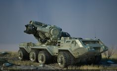 EMP Artillery by Max234666cccp @ Render