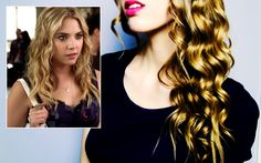 Piecey Waves - Pretty Little Liars - Hanna hair tutorial
