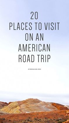 Pack the car! It's time to see the all-American sights // road trip