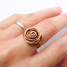 Rose RingFree Diy Jewelry Projects | Learn how to make jewelry - beads.us