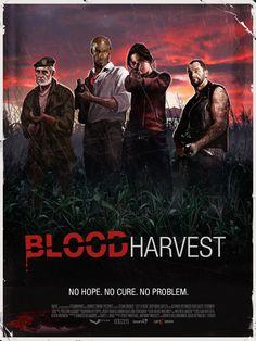 Left 4 Dead Poster - Blood Harvest