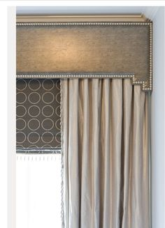 { PINNED! VALANCES } Love this window treatment! All layered up.