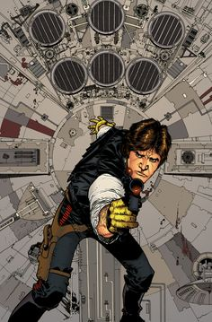 'He's a card player, gambler. by thesealord on DeviantArt Han Solo And Chewbacca, Star Wars Han Solo, Star Wars Poster, Star Wars Art, Love Stars, Long Time Ago, Great Movies, Movies And Tv Shows, All Star