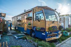 John & Linda Ericson currently use a renovated bus for living in Alaska, & their Mitsubishi Fuso based house truck for travelling.    http://tumbleweedhouses.com/blogs/tumbleweed/83981188-75-year-old-retiree-travels-world-in-house-truck?utm_source=Tumbleweed+Houses&utm_campaign=d72c3ae437-February-Newsletter-Resend-2016&utm_medium=email&utm_term=0_7539d648c2-d72c3ae437-17416301&goal=0_7539d648c2-d72c3ae437-17416301&mc_cid=d72c3ae437&mc_eid=58e3e550b6