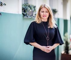 "Zuzana Čaputová on Instagram: ""Budúca prezidentka 👏🏻🇸🇰 #zuzanacaputovastyle #nasaprezidentka #zuzanacaputova #womenstyle #women #womenswear #blackdress #dress #style…"" Bell Sleeves, Bell Sleeve Top, Nice, Instagram, Tops, Women, Fashion, Moda, Fashion Styles"