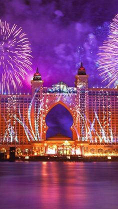 Celebrations at Atlantis the Palm, Dubai