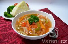 Recept na tukožroutskou polévku, která vám pomůže zbavit se nadbytečných kilogramů.