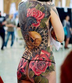 Tattoo by © Vasily Vulkanov