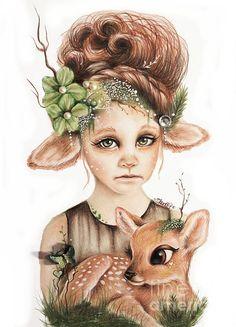 SHEENA PIKE ART & ILLUSTRATION MERCHANDISE: ©Sheena Pike -Licensed illustrator http://pixels.com/profiles/sheena-pike.html?tab=artwork