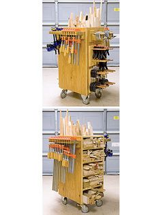 Scrap Sorter/clamp rack