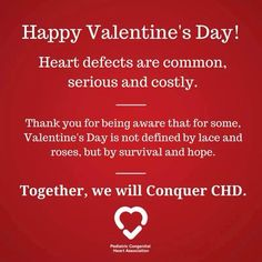 WE WILL CONQUER CHD