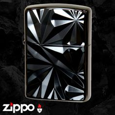 Engraved black nickel armor zippo.  So cool!