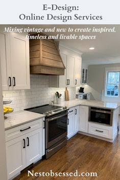 E-Design – Custom Project Rustic Kitchen Decor, Functional Kitchen, Interior Design Services, Kitchen Colors, Cool Kitchens, Service Design, The Help, Bathrooms, Vintage Modern