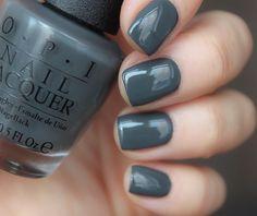 #opilivinthegray от @pro_opi очень интересный серый, крашу им второй раз, нравится #opiwashingtondc