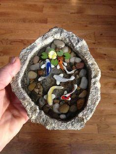 Mini fish for fairy pots