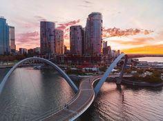 Elizabeth Quay, Perth Morning View, Photoshoot Inspiration, Photography Business, Western Australia, Perth, City, Travel, Image, Instagram