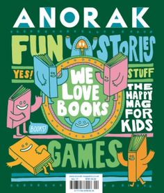 Anorak Magazine - Issues - BOOKS