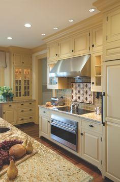 Crown Point Cabinetry creates custom handcrafted cabinets for any old-house room. *This pin is sponsored by Crown Point Cabinetry. Dutch Colonial Homes, Colonial Kitchen, Custom Kitchen Cabinets, Custom Cabinetry, Crown Point Cabinetry, House Rooms, Old Houses, Interior Design, Kitchen Ideas