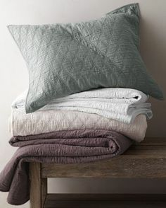 Newgate Quilt and Sham in Grapeseed