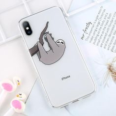 Transparent Cute Cartoon Silicone Phone Case For iPhone Cool Iphone Cases, Ipod Cases, Funny Giraffe, Iphone 7 Plus, Iphone 5c, Silicone Phone Case, Birthday List, Mobile Cases