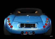 Wiesmann Roadster MF3 in black & blue