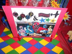 """Photo 3 of 11: Power Rangers / Birthday """"Turning 3"""" 