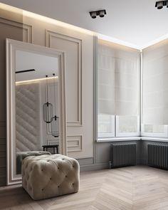 Apartments in UkraineDesign: DE&DE interior studioVisualization: Max Tiabys, Max Shpak (VizLine Studio)