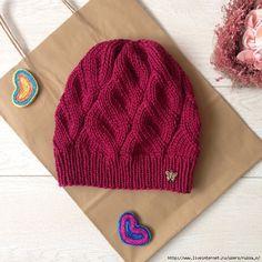 Diagonal Knit Hat Making with Video 30 Diagonal Knit Hat Making with Video 30 Baby Hats Knitting, Easy Knitting, Knitting Stitches, Knitted Hats, Knitting Patterns, Crochet Beanie, Knit Crochet, Crochet Hats, Knitwear Fashion