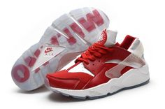 5925cc14db09b Nike Air Huarache Europes Four Famous Cities Series 634835-017 Second Floor  Red and White