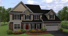 Country Traditional House Plan 54024