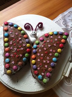 Butterfly Cakes, Butterfly Birthday, Creative Cakes, Creative Food, Cake Cookies, Cupcake Cakes, Food Decoration, Food Humor, Cute Food