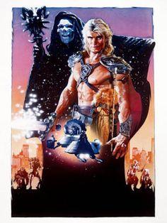 Masters del universo (1987). Drew Struzan.