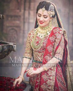 Likes, 81 Comments – Maha Wajahat Khan ( Asian Wedding Dress, Pakistani Bridal Dresses, Pakistani Wedding Dresses, Pakistani Dress Design, Wedding Lehnga, Bridal Makeup Looks, Bridal Looks, Bridal Style, Bridal Beauty