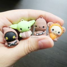 Chibi Star Wars Set- these will be available in my next etsy shop update. # - Star Wars Ewok - Ideas of Star Wars Ewok - Chibi Star Wars Set- these will be available in my next etsy shop update. Fimo Kawaii, Polymer Clay Kawaii, Fimo Clay, Polymer Clay Projects, Polymer Clay Charms, Polymer Clay Art, Polymer Clay Jewelry, Clay Crafts, Kawaii Chibi