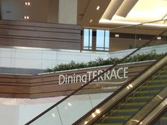 New dining terrace at Richmond Centre