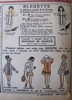 Bleuette the famous little Blueberry of France by Susan Hale - Dolls Houses Past & Present