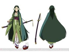 Character design by Shingo Adachi for the Fairy Dance Arc of the Sword Art Online anime Sakuya's Lost Song character model
