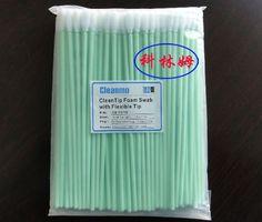 CM-FS740 Cleanroom ESD Long Foam Swabs - Replace Texwipe TX740B Medium CleanFoam Swab with Long Handle